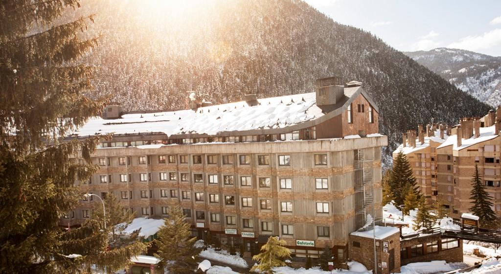 Hotel TucBlanc Baqueira 1500. Puesta de sol