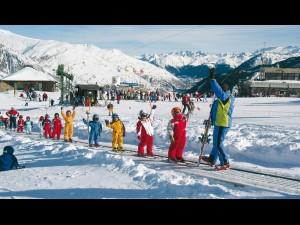 Professor d'esquí infantil