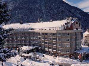 Hotel TucBlanc. Vistes de l'Hotel Tuc Blanc nevat