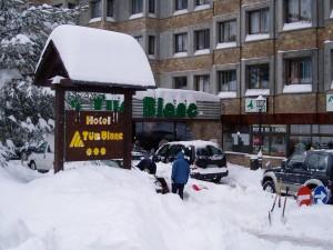 Entrada del Hotel TucBlanc