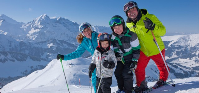 Hotel TucBlanc. Esquiando en familia