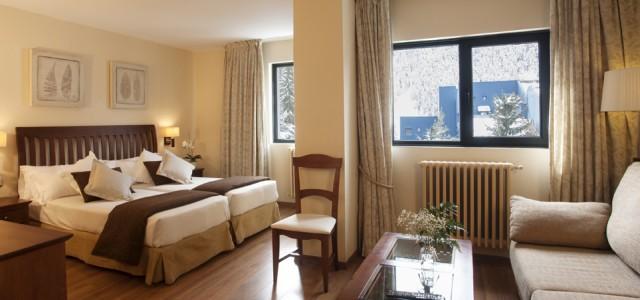 Habitació JuniorSuite Hotel TucBlanc Baqueira