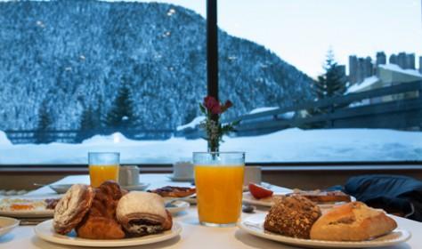 Disfruta cada dia del desayuno bufette en nuestro restaurante