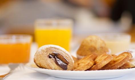 Restaurante Hotel TucBlanc. Desayuno