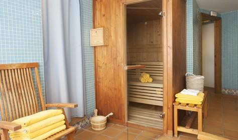 Sauna. Hotel Tuc Blanc Baqueira