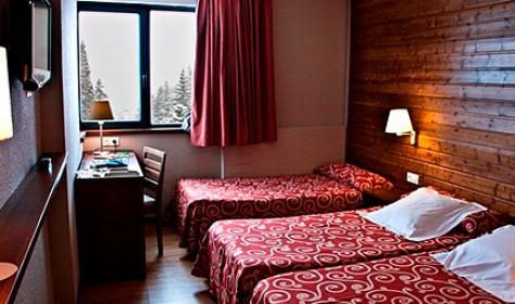 Habitació doble con cama supletoria